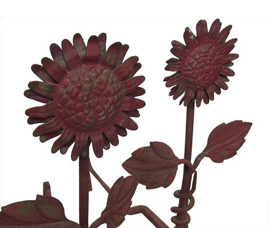 Sunflower Andirons