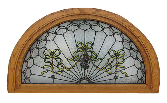 Stained Glass Amp Beveled Glass Wooden Nickel Antiques