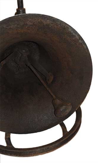 Large Iron Bell, Made in Cincinnati
