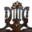 Lovely Renaissance Revival Music Stand, with Compartments