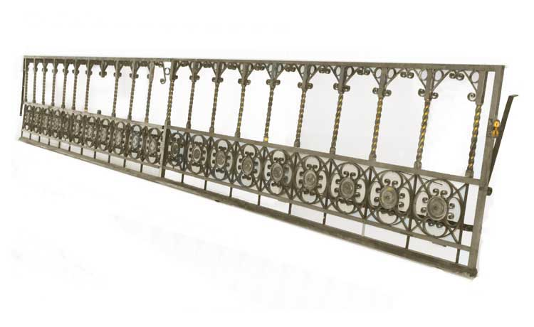 Two-Piece Brass Railing