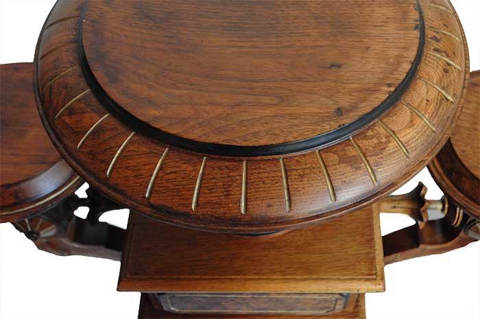 Triple Renaissance Revival Pedestal