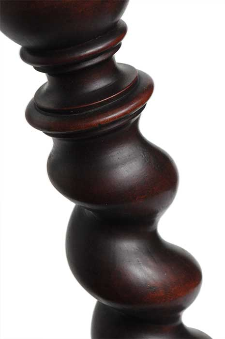 Mahogany Pedestal, with Twisted Column