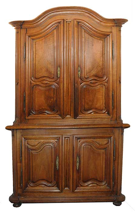 French Four-Door Cabinet