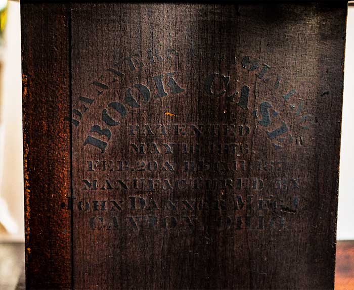 Revolving Mahogany Book Case