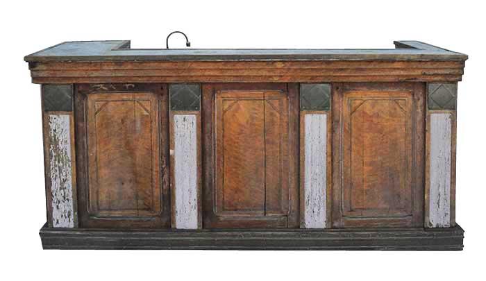 Art Deco Front Bar