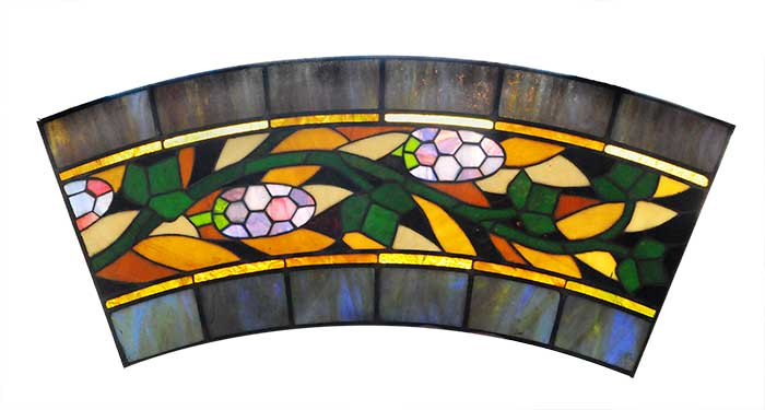 Assorted Small Stained Glass Panels