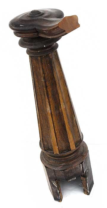 Wooden Newel Post