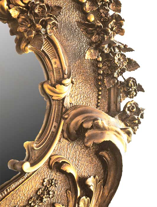 Highly Detailed Victorian Overmantel Mirror