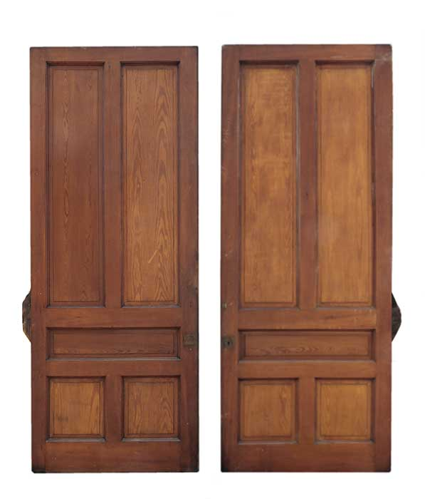 Two-Door Set of OAK Pocket Doors