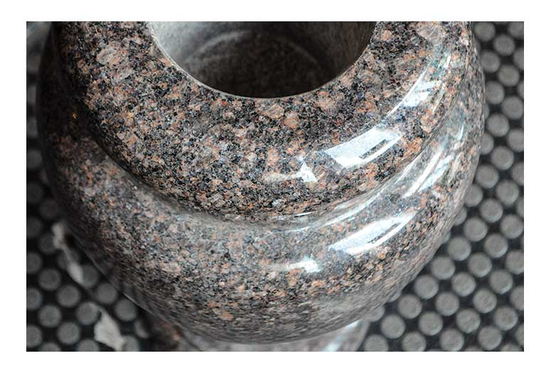 Pink Marble Decorative Urn