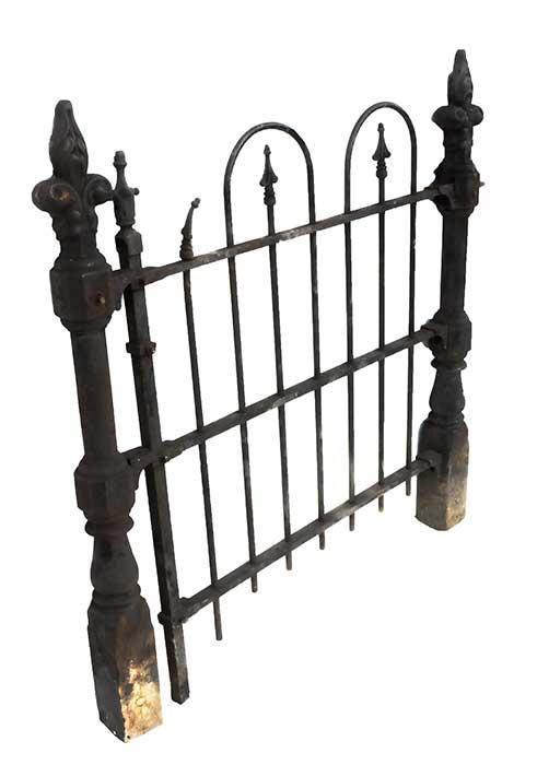 Three-Piece Iron Gate