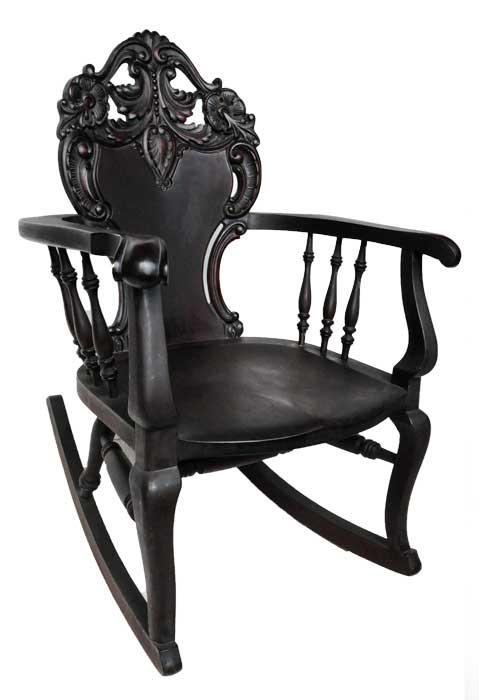 Three-Piece Mahogany Set of Robert Mitchell Chairs & Loveseat
