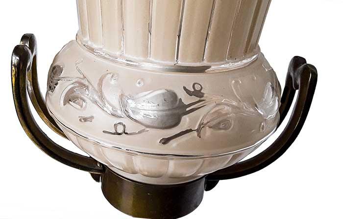 Matching Pair of Art Deco Floor Lamps
