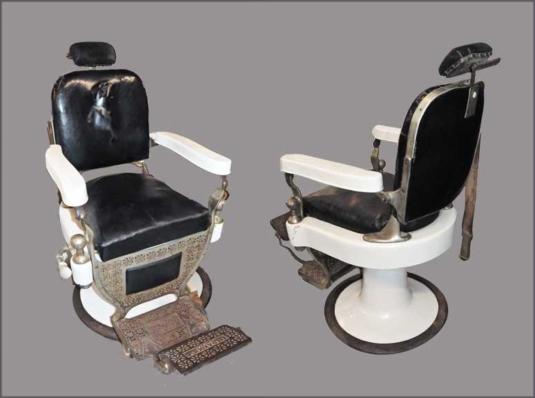 Vintage Rotating Barber Chair