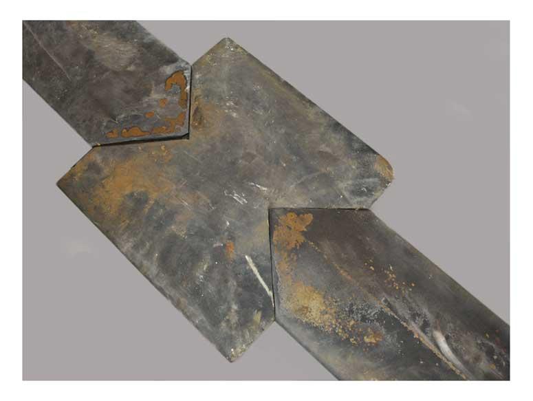 Limestone Railing