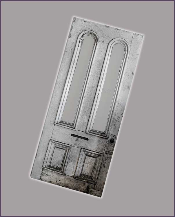 Double-Arched Window Italianate Door