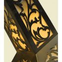 Finely Crafted Filigree Table Lamp