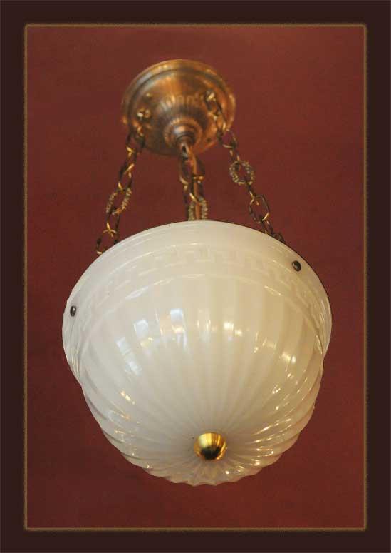 Small Bronze Bowl Light