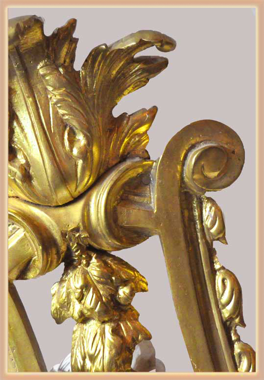 Pair of Turn-of-the-Century Brass Sconces