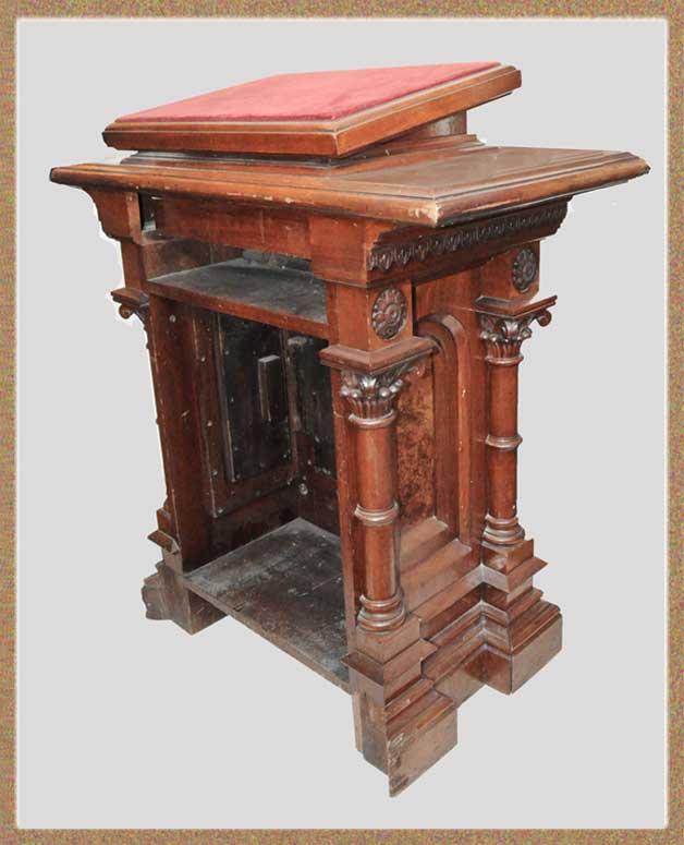 Renaissance Revival Host/Hostess Stand