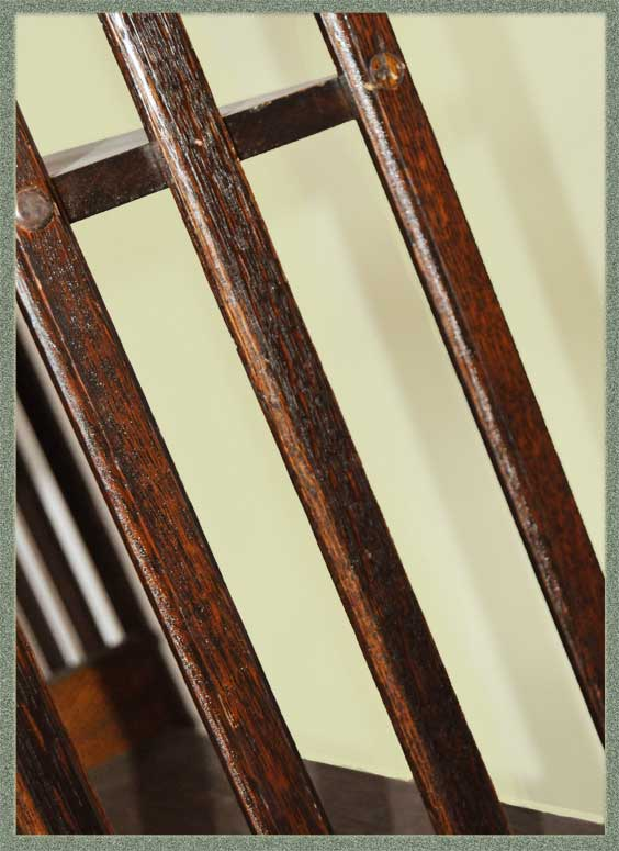 Vintage, 5-Foot, Revolving Oak Bookcase