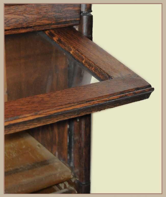 Three-Stack Oak Bookcase