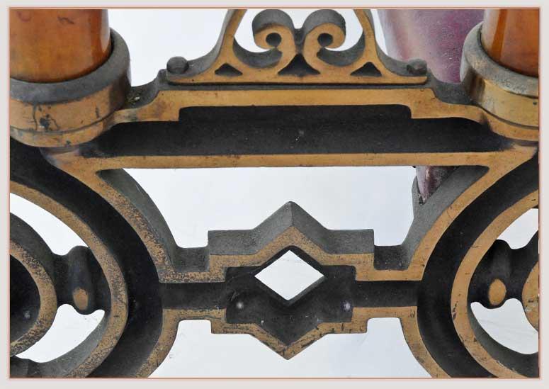 Ornate Brass Church Kneeling Bench