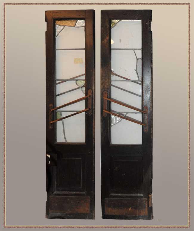 """Salvaged Saloon Doors from Historical Cincinnati Restaurant """"Wiggins"""""""