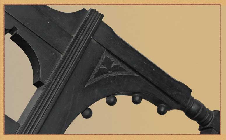 Carved Wooden Easel