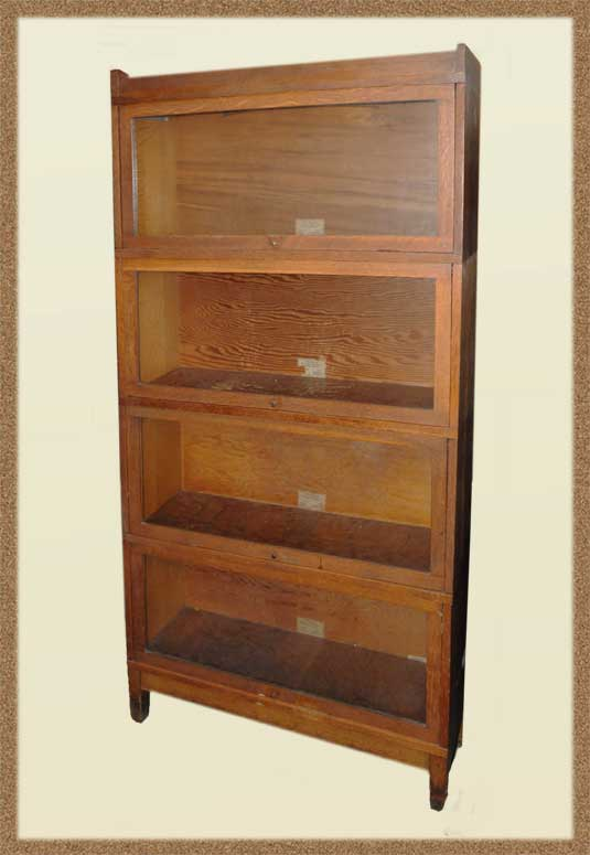 Four-Tier Globe-Wernicke Sectional Bookcase