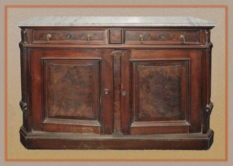 Marble Top Sideboard Base