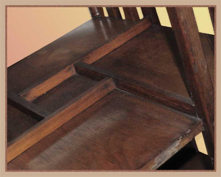 Medium Oak Revolving Bookcase