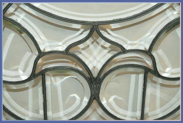 Set of 5 Beveled Glass Windows