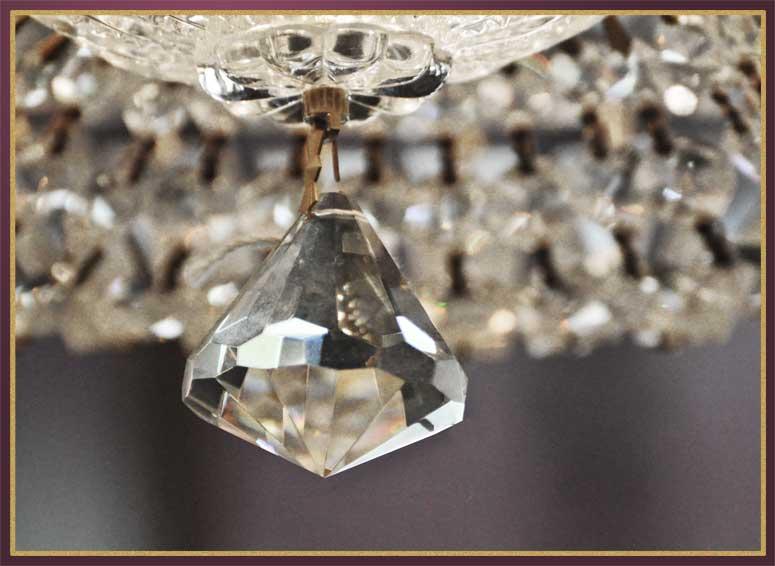 Grand Flush-Mount Crystal Light