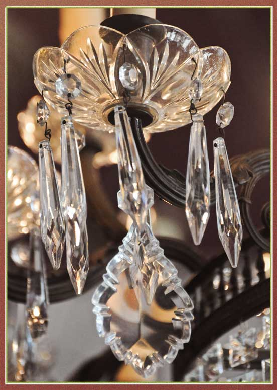 Classic 18-Arm Crystal Chandelier