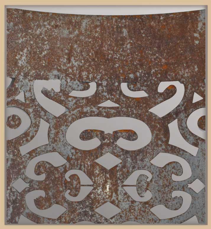 Multiple Decorative Metal Covers