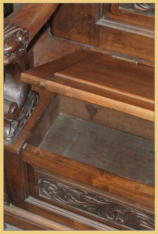 Hall Mirror & Hall Bench Combo