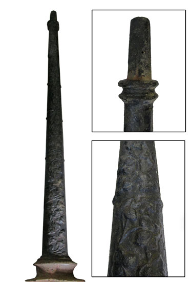 Victorian Cast Iron Light Pole