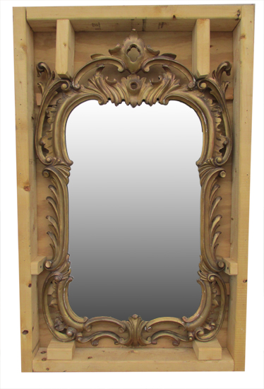 French Gold Mirror
