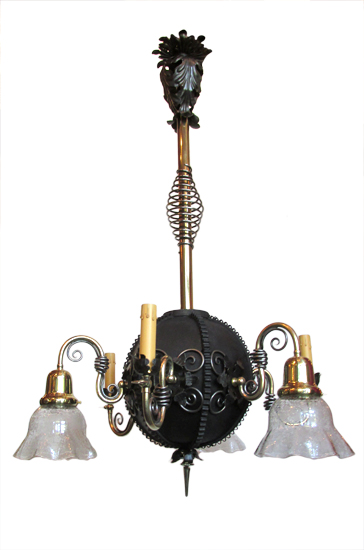 Six-Arm Gas/Electric Light